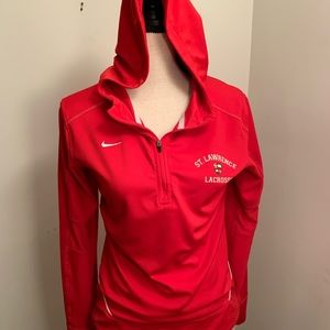 Nike Red College Quarter Zip